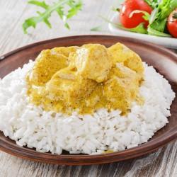 Riz poulet curry